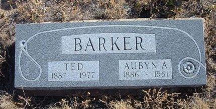 BARKER, AUBYN AGATHA - Baca County, Colorado   AUBYN AGATHA BARKER - Colorado Gravestone Photos