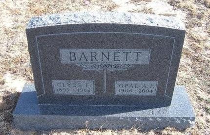 BARNETT, CLYDE E - Baca County, Colorado | CLYDE E BARNETT - Colorado Gravestone Photos