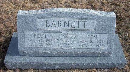BARNETT, PEARL - Baca County, Colorado | PEARL BARNETT - Colorado Gravestone Photos