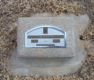 BARRAGREE, TRESSA - Baca County, Colorado   TRESSA BARRAGREE - Colorado Gravestone Photos