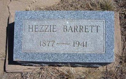BARRETT, HEZZIE - Baca County, Colorado | HEZZIE BARRETT - Colorado Gravestone Photos
