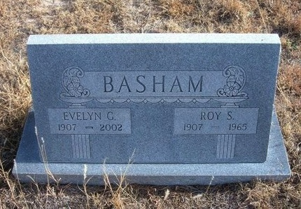 BASHAM, EVELYN G - Baca County, Colorado | EVELYN G BASHAM - Colorado Gravestone Photos