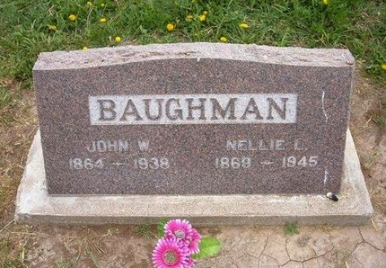 KINGSBURY BAUGHMAN, NELLIE LOUISE - Baca County, Colorado | NELLIE LOUISE KINGSBURY BAUGHMAN - Colorado Gravestone Photos