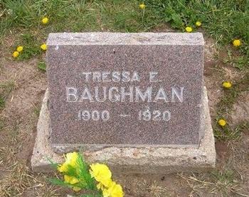 BAUGHMAN, TRESSA E - Baca County, Colorado | TRESSA E BAUGHMAN - Colorado Gravestone Photos