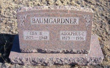 BAUMBERGER, IDA B - Baca County, Colorado   IDA B BAUMBERGER - Colorado Gravestone Photos
