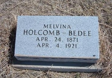 BEDEE, MELVINA - Baca County, Colorado | MELVINA BEDEE - Colorado Gravestone Photos