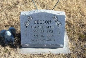BEESON, HAZEL MAE - Baca County, Colorado | HAZEL MAE BEESON - Colorado Gravestone Photos