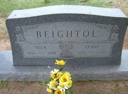 BEIGHTOL, ELLA - Baca County, Colorado | ELLA BEIGHTOL - Colorado Gravestone Photos