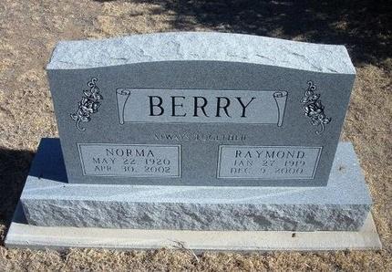 BERRY, NORMA - Baca County, Colorado | NORMA BERRY - Colorado Gravestone Photos