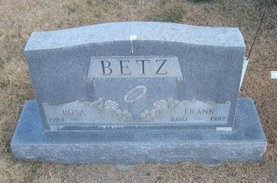 BETZ, FRANK - Baca County, Colorado | FRANK BETZ - Colorado Gravestone Photos