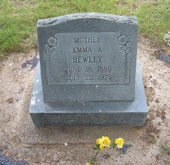 BEWLEY, EMMA A - Baca County, Colorado | EMMA A BEWLEY - Colorado Gravestone Photos