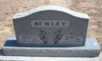 CLARK BEWLEY, FRANCES NEOLA - Baca County, Colorado | FRANCES NEOLA CLARK BEWLEY - Colorado Gravestone Photos
