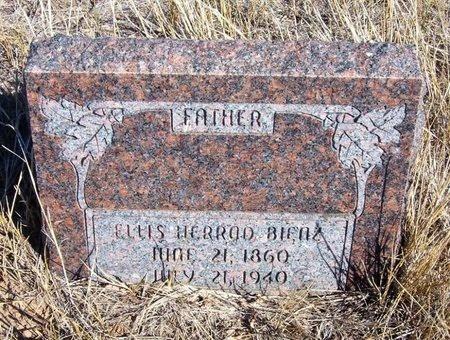 BIENZ, ELLIS HERROD - Baca County, Colorado | ELLIS HERROD BIENZ - Colorado Gravestone Photos