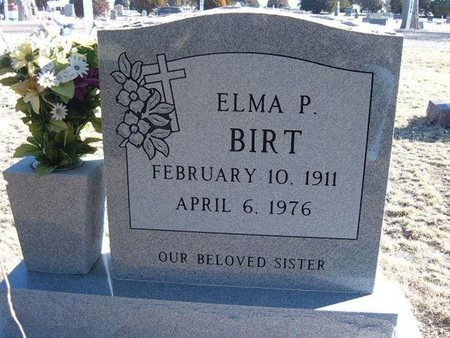 BIRT, ELMA PEARL - Baca County, Colorado | ELMA PEARL BIRT - Colorado Gravestone Photos