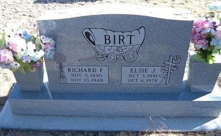 BIRT, RICHARD FRANKLIN - Baca County, Colorado | RICHARD FRANKLIN BIRT - Colorado Gravestone Photos