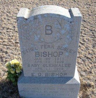 BISHOP, GLENNALEE - Baca County, Colorado | GLENNALEE BISHOP - Colorado Gravestone Photos