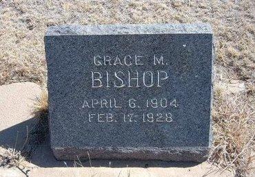 BISHOP, GRACE M - Baca County, Colorado   GRACE M BISHOP - Colorado Gravestone Photos