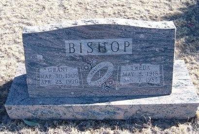 GRANTHAM BISHOP, TWEDA FAY - Baca County, Colorado | TWEDA FAY GRANTHAM BISHOP - Colorado Gravestone Photos