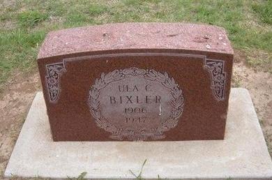 BIXLER, ULA CELESTA - Baca County, Colorado | ULA CELESTA BIXLER - Colorado Gravestone Photos