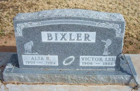 BOOTHBY BIXLER, ALTA E - Baca County, Colorado | ALTA E BOOTHBY BIXLER - Colorado Gravestone Photos