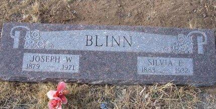 BLINN, JOSEPH W - Baca County, Colorado | JOSEPH W BLINN - Colorado Gravestone Photos