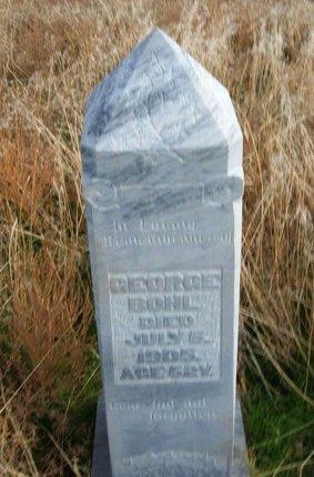 BOHL, GEORGE - Baca County, Colorado   GEORGE BOHL - Colorado Gravestone Photos