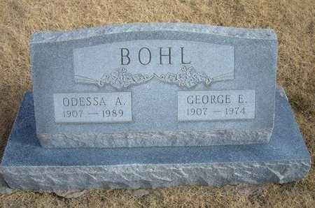 BOHL, GEORGE E - Baca County, Colorado | GEORGE E BOHL - Colorado Gravestone Photos