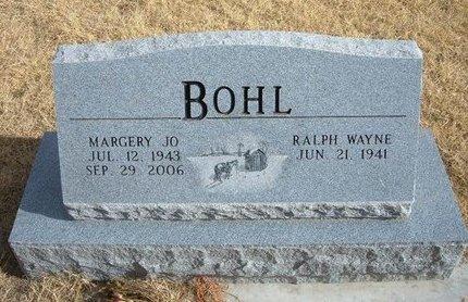 BOHL, MARGERY JO - Baca County, Colorado | MARGERY JO BOHL - Colorado Gravestone Photos