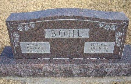 BOHL, MINNIE A - Baca County, Colorado | MINNIE A BOHL - Colorado Gravestone Photos