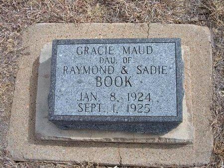 BOOK, GRACIE MAUD - Baca County, Colorado | GRACIE MAUD BOOK - Colorado Gravestone Photos