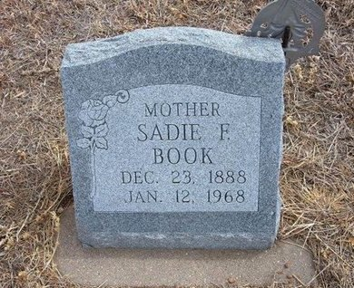 BOOK, SADIE F - Baca County, Colorado | SADIE F BOOK - Colorado Gravestone Photos