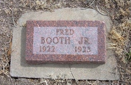 BOOTH, JR, FRED - Baca County, Colorado | FRED BOOTH, JR - Colorado Gravestone Photos