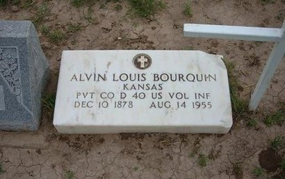 BOURQUIN (VETERAN WWI), ALVIN LOUIS - Baca County, Colorado | ALVIN LOUIS BOURQUIN (VETERAN WWI) - Colorado Gravestone Photos