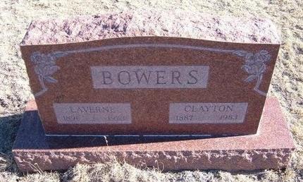 BOWERS, CLAYTON - Baca County, Colorado   CLAYTON BOWERS - Colorado Gravestone Photos