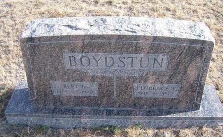 BOYDSTUN, FLORENCE E - Baca County, Colorado   FLORENCE E BOYDSTUN - Colorado Gravestone Photos