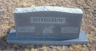 BOYDSTUN, HAZEL E - Baca County, Colorado | HAZEL E BOYDSTUN - Colorado Gravestone Photos