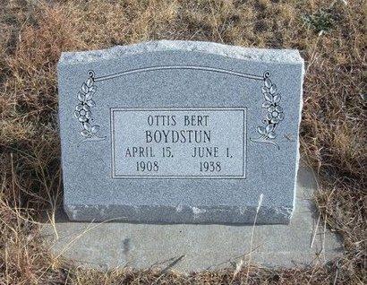BOYDSTUN, OTTIS BERT - Baca County, Colorado   OTTIS BERT BOYDSTUN - Colorado Gravestone Photos