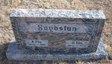 BOYDSTUN, R ROY - Baca County, Colorado | R ROY BOYDSTUN - Colorado Gravestone Photos