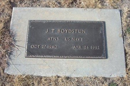BOYDSTUN (VETERAN), J T - Baca County, Colorado | J T BOYDSTUN (VETERAN) - Colorado Gravestone Photos