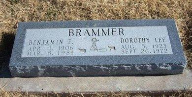 BRAMMER, DOROTHY LEE - Baca County, Colorado | DOROTHY LEE BRAMMER - Colorado Gravestone Photos