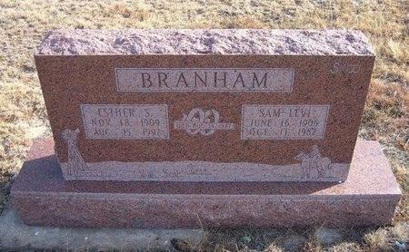 BRANHAM, SAMUEL LEVI - Baca County, Colorado   SAMUEL LEVI BRANHAM - Colorado Gravestone Photos