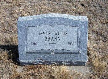 BRANN, JAMES WILLIS - Baca County, Colorado   JAMES WILLIS BRANN - Colorado Gravestone Photos