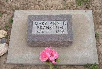 BRANSCUM, MARY ANN F - Baca County, Colorado | MARY ANN F BRANSCUM - Colorado Gravestone Photos