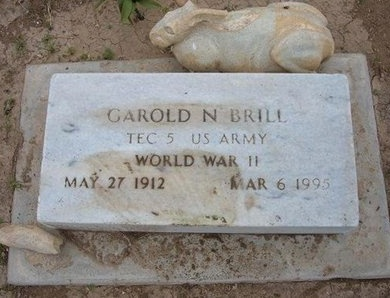 BRILL (VETERAN WWII), GAROLD NATHAN - Baca County, Colorado | GAROLD NATHAN BRILL (VETERAN WWII) - Colorado Gravestone Photos