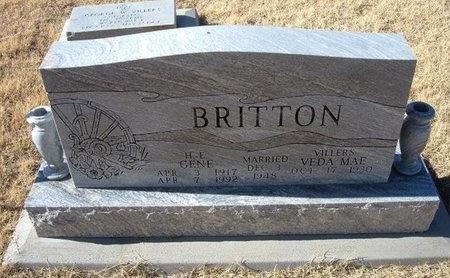 BRITTON, H E GENE - Baca County, Colorado   H E GENE BRITTON - Colorado Gravestone Photos