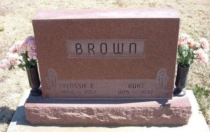 BROWN, BURT FRANKLIN - Baca County, Colorado | BURT FRANKLIN BROWN - Colorado Gravestone Photos