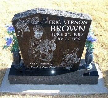 BROWN, ERIC VERNON - Baca County, Colorado | ERIC VERNON BROWN - Colorado Gravestone Photos