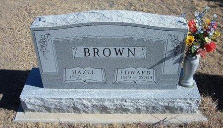 BROWN, EDWARD - Baca County, Colorado | EDWARD BROWN - Colorado Gravestone Photos