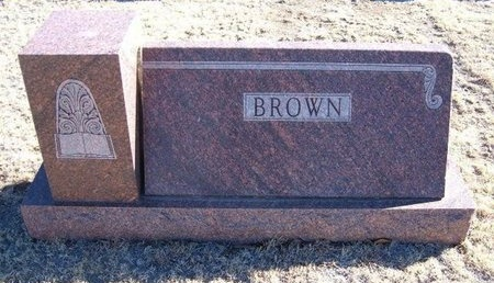 BROWN FAMILY GRAVESTONE,  - Baca County, Colorado |  BROWN FAMILY GRAVESTONE - Colorado Gravestone Photos