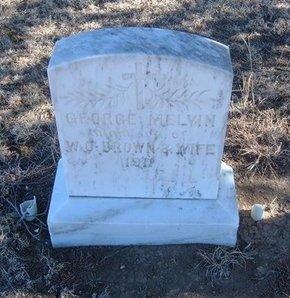 BROWN, GEORGE MELVIN - Baca County, Colorado | GEORGE MELVIN BROWN - Colorado Gravestone Photos